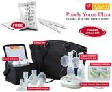 Ameda 17085KIT4 Combo 4 Purely Yours Ultra Breast Pump With Free Milk Storage Bags - 20 ct box
