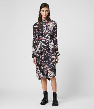 AllSaints Anya Wing Dress