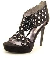 Carlos by Carlos Santana Saracina Women Open Toe Canvas Platform Heel.