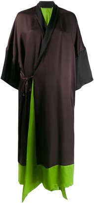 Haider Ackermann Wrap Front Dress