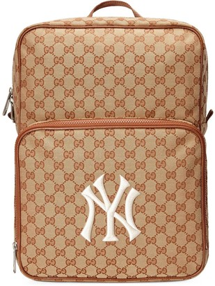 Gucci Medium backpack with NY Yankees patch