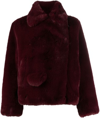 Zadig & Voltaire Freeze faux-fur jacket