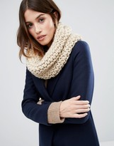 Vila Knitted Infinity scarf
