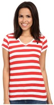 U.S. Polo Assn. Lace Trim V-Neck T-Shirt