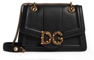 Dolce & Gabbana Embellished Leather Bag
