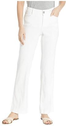 NYDJ The Trouser in Optic White (Optic White) Women's Casual Pants