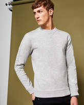 Ted Baker Knitted panel detail sweatshirt