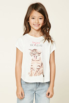 Forever 21 Girls Bonjour Monday Tee (Kids)
