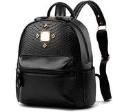 Hynbase Retro Women Fashion Mini PU Leather Shool Bag Casual Backpack Shoulder Bag