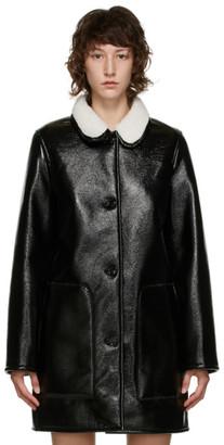 A.P.C. Black Short Poupee Coat