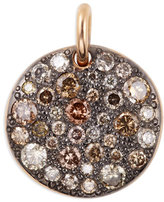 Pomellato Sabbia 18k Rose Gold & Brown Diamond Pendant