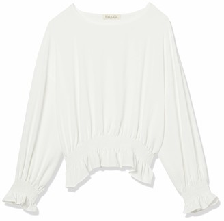 Forever 21 Women's Plus Size Smocked Ruffled Top
