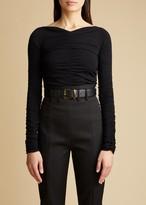 The Anastasia Bodysuit in Black