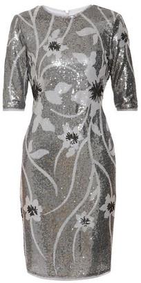 Gina Bacconi Joetta Sequin Dress