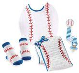 Mud Pie 4-Piece Baseball Gift Set
