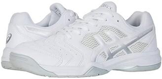 Asics GEL-Dedicate(r) 6 (White/Silver) Men's Tennis Shoes