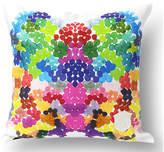 Kristi Kohut On Fire 18x18 Linen Pillow