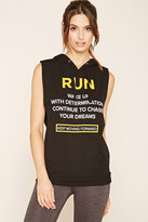 Forever 21 Active Run Graphic Hoodie