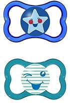 Mam Air 6+Months Soother, Blue 2 per pack - Pack of 4