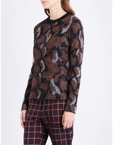 By Malene Birger Bioncy metallic knitted jumper