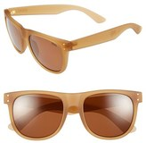 Zeal Optics Women's 'Ace' 54Mm Biodegradable Plant Based Sunglasses - Ace Black Gold