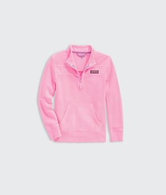 Vineyard Vines Girls' Garment-Dyed Shep Shirt