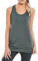 Nanette Lepore Play Active Abstract Floral Mesh Tank