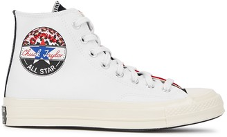 Converse Chuck 70 panelled canvas hi-top sneakers