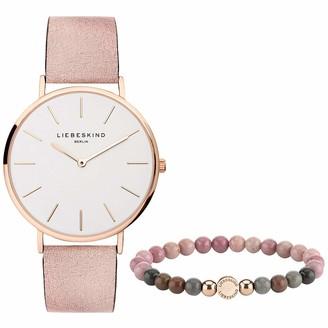 Liebeskind Berlin Women's Watch and Bead Bracelet Set LS-0072-LQB