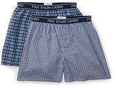 Ralph Lauren Woven Cotton Boxer 2-Pack