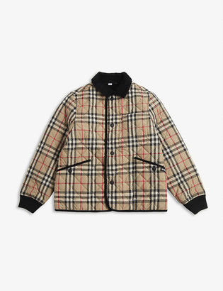 Burberry Culford vintage check coat 4-14 years