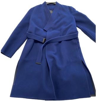 Louis Vuitton Navy Wool Coats