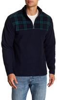 Brooks Brothers Fleece Partial Zip-Up Pullover