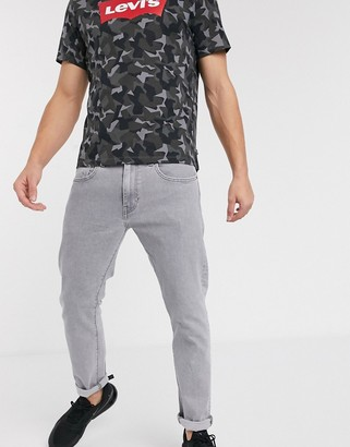 Levi's 512 slim tapered fit jeans in steel gray stonewash