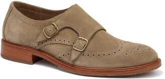 Trask Leland Double Monk Strap Shoe