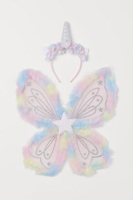 H&M Unicorn Hairband and Wings