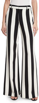 Alice + Olivia Paulette Striped Wide-Leg Pants