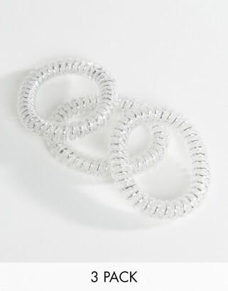 invisibobble Slim Hair Tie - Silver