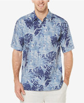 Cubavera Men's Linen Tropical Foliage Shirt