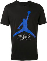 Nike basketball print T-shirt - men - Cotton - S