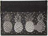 Dolce & Gabbana Black Pineapple Card Holder