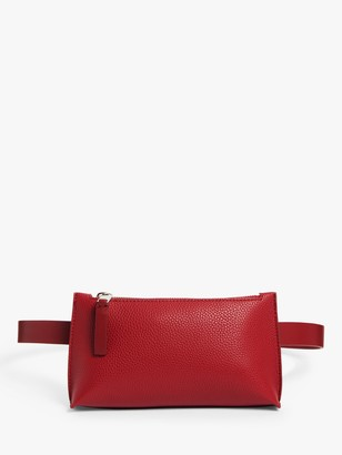 KIN Sadi Cross Body Belt Bag, Cherry