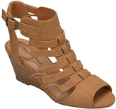 City Classified Tan Awhile Wedge Sandal