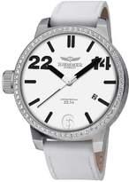 Swarovski Haemmer Men's HQ-12 Paris Stainless Steel Crystals Date Limited Edition Watch