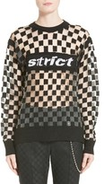 Alexander Wang Women's Checkerboard Pullover