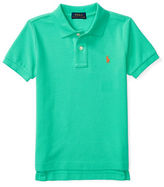 Ralph Lauren Boys 2-7 Classic Cotton Mesh Polo