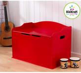 Kid Kraft Red Austin Toy Box