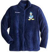 Disney Donald Duck Fleece Jacket for Men - Personalizable