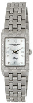 Raymond Weil Women's Tango Pave Diamond Swiss Quartz Bracelet Watch