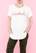 Junk Food Clothing Heartbreaker Raglan Top